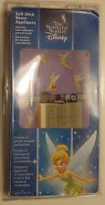 NEW! Disney Tinkerbell Self Stick Room Appliqués 22 reuseable stickers FREE SHIP