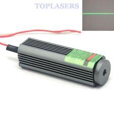 5VCC 532nm 50mW Green laser diode Module potente LAZER linea trave W / Glass Lens