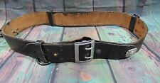 """Don Hume  Leather Police 32"""" Duty Belt & Accessories"""