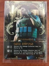 Resident Evil Deck Building Game Promo Card Chris Redfield PR-001
