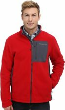 Vineyard Vines Still River Fleece Full Zip Jacket RED VELVET Sz XL NWT MSRP $165