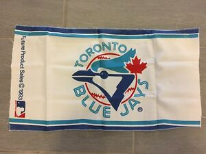 "Vintage 1993 Toronto Blue Jays Small Banner Flag Unfinished 20"" x 11"""