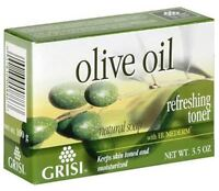 Grisi Natural Olive Oil Soap, 3.5 oz (Pack of 3)