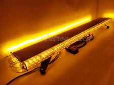"""59"""" LED Light Bar Strobe Warning Flashing Emergency Beacon Security Signal Amber"""