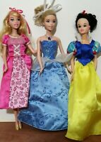Disney Princess Fashion Dolls Lot