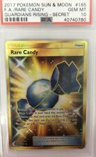 POKEMON TCG : Rare Candy 165-145 Secret - PSA 10