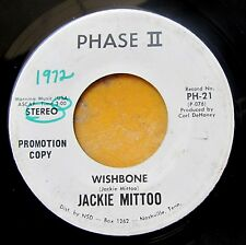 SKA REGGAE INSTRUMENTAL 45: JACKIE MITTOO Wishbone PHASE II 21 white label promo