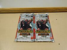 Gundam War: Mobile Suit Gundam The Card Game CCG Booster Pack LOT (2) NEW/SEALED