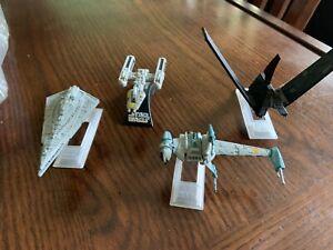 Star Wars Hasbro Titanium Die-Cast Lot Ships Krennic B Y Wing  Star Destroyer