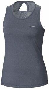 COLUMBIA Peak To Point Training Gym Shirt Sleeveless Tank Top Womens All Sizes