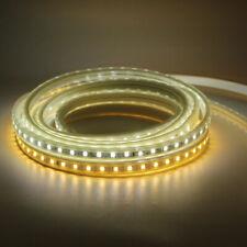 Tira de LED 220V 240V ip68 Impermeable 2835 SMD Luces Cuerda Jardín Terraza Cocina