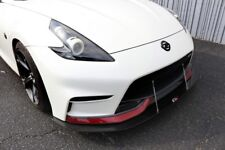 APR Performance Carbon Fiber Front Wind Splitter w/ Rods Z34 370z Nismo ONLY 15+