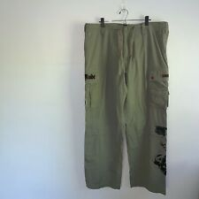 Juicy Couture Mens Green Cargo Pants Size 38