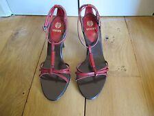 Sandales VERSUS VERSACE rouges T37