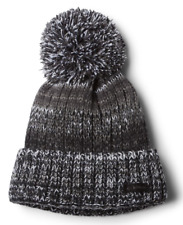 Columbia NWT Unisex Winter Blur Beanie II Dark Black, One Size     ZZ53