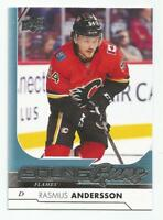 17/18 Upper Deck Series 1 Rasmus Andersson Young Guns Rookie Card RC #218 FLAMES