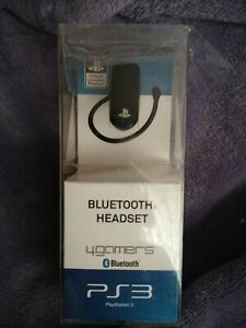 4gamers - PS3 Officially Licensed Bluetooth Headset