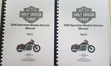HARLEY DAVIDSON 2008 SPORTSTER SERVICE MANUAL REPRINTED A4