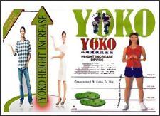 1 Set ORIGINAL YOKO HEIGHT INCREASER INSOLES (NATURAL WAY TO TALL)100% GUARANTEE