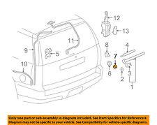GM OEM Rear Wiper-Wiper Motor Nut 11569839