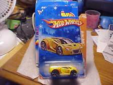Hot Wheels Track Stars Ultra Rage on Snowflake Card