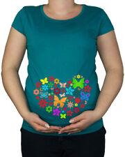 Magliette verde per la maternità