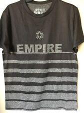 STAR WARS -EMPIRE - Men's Charcol Gray  T-Shirt Size Medium