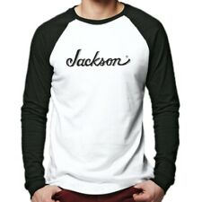 Jackson Guitars Long Sleeve Baseball T-Shirt Electric Guitar Bass Guitarist Rock
