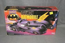 Kenner 1990 Batman The Dark Knight Collection BATMOBILE complete in Box!