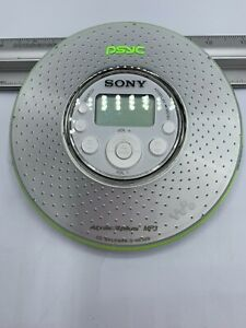Sony Walkman D-NE320 Portable CD MP3 PSYC Player Only!! Tested In Working Order