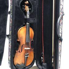 Antique Johann Uhlrich Fichtl in Mittenwald an 1763 4/4 Violin with Bausch Bow