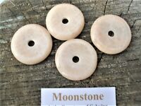 4 Moonstone Circle/Donuts-Lovely Energy! Soothing to Hold-Sacred Circle Shape