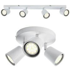 Matt White LED GU10 Light Bulb Bar Ceiling Fitting Spotlight Lamp Kitchen 240v