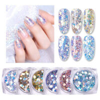BORN PRETTY 3g Nail Glitter Sequins Shining Irregular Flakes Nail Art Decor DIY