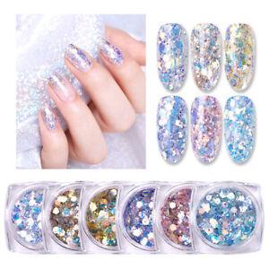 BORN PRETTY 3g Nail Glitter Sequins Shining Irregular Flakes 3D Nail Art Decors