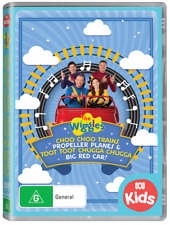 Wiggles The Trains Planes & Car DVD R4
