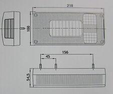 Satz Rückleuchten für LKW PKW Wohnmobil  Wohnwagen Anhänger . Rückleuchte