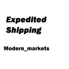 Upgrade to 2-day shipping for Modern_markets