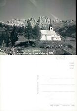 CAVIOLA m. 1127 - DOLOMITI - GOTICA CHIESA CON LE CIME D'AUTA  (rif.fg.4047 BIS)