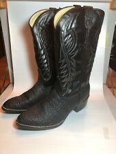 Bronco All American Mens Western Boot Size 10.5 Black