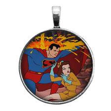 Fleischer Superman Lois Lane Key Ring Necklace Cufflinks Tie Clip Ring Earrings