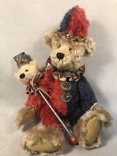 Pv04964 Vintage Handcrafted Artist Bear Janet Reeves- Merlin