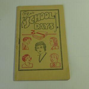 Vintage Original Tijuana Bible School Days First Pressing Authentic 16 pg rare