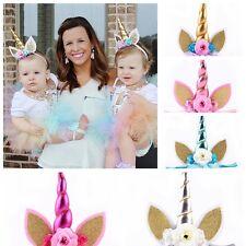 Bandeau Décoratif de la Licorne Corne pour les Bébés Fête d'Anniversaire Fête