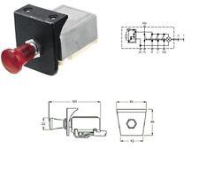 Hella 5225 12VDC Hazard Warning Switch