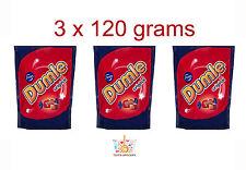 3 x Fazer DUMLE ORIGINAL Soft Toffee Covered with Milk Chocolate 120g 4.2oz