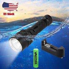 Waterproof  5000LM Scuba Diving XM-L L2 LED Dive Flashlight Torch Light 18650 US