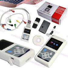 TLC5000 Dynamic 12-Channel 24h ECG/EKG Holter System Recorder Software Analyzer
