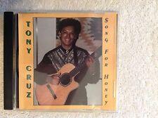 Tony Cruz~Song For Honey Jackson CD~14 Songs~English~Portuguese~1998~Free USShip