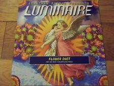 """Luminaire-Fleur Duo 12"""" record/Vinyle-PELICAN-TV 001"""